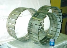 Цанги газовой турбины, покрытые стеллитом